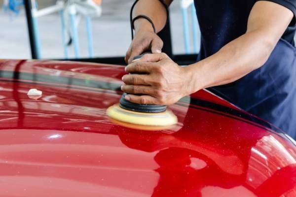 Car paint correction Townsville